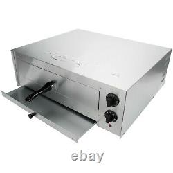 Commercial Stainless Steel Countertop Pizza Oven w\ Adjustable Thermost Control