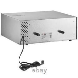 Commercial Stainless Steel Large Countertop Pizza / Snack Oven 120V, 1450W