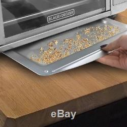 Commercial Toaster Oven Convection Kitchen Countertop Stainless Steel Pizza Bake