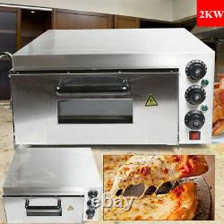 Commerical Pizza Oven Electric Bakery Equipment Bread Making Machine 2kw, 110V