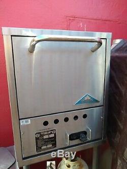 Comstock Castle PO19 Gas Countertop Single Stack Pizza Oven- 25,000 BTU