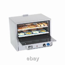 Comstock Castle PO31 Double Deck Gas Pizza Oven with Two 21 Hearth Decks