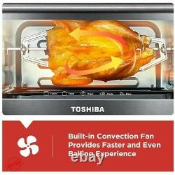 Convection Oven Countertop Digital Toaster Electric Pizza Bread Baking Rack Pan