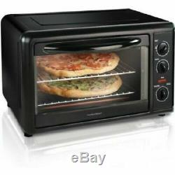 Convection Toaster Oven Countertop Rotisserie Kitchen Counter Pizza Chicken Cook