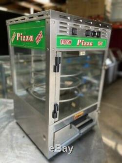 Counter Top Pizza Station Oven & Glass Rotating Hot Display Roundup PS-314 #3629