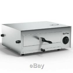 Countertop Electric Pizza Oven Maker Commercial Auto Shut Off Removable Tray