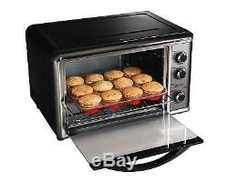 Countertop Oven Convection Rotisserie broiler Chicken rack / pizzas/ 2 cake pans