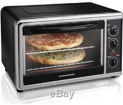 Countertop Pizza Oven Convection Toaster Bake Broiler Rotisserie Kitchen Cooking