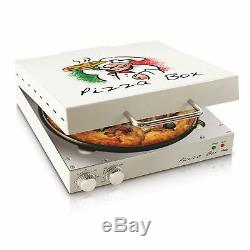 Countertop Pizza Oven With Rotating Surface Kitchen Unique Box Style Baker Cooker