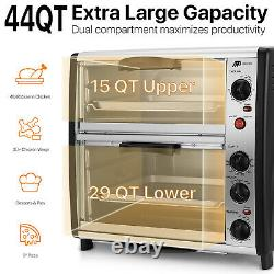 Countertop Toaster Oven Electric Roaster Cooker Machine Rotisserie Chicken Pizza