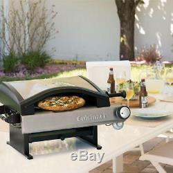 Cuisinart Alfrescamore Countertop Propane Outdoor Pizza Oven