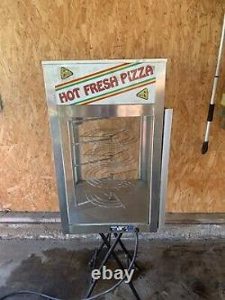 Display Hot Pizza cabinet Holding Display Cabinet Wisco Model 695 Food Warmer