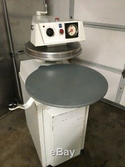 DoughPro DP-1300 Heated Automatic 18 Pizza Dough Press withRolling Cabinet