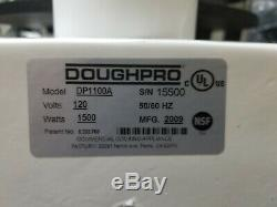 DoughPro DP1100A Manual Dough Press Heated Pizza Tortilla Machine Works Great