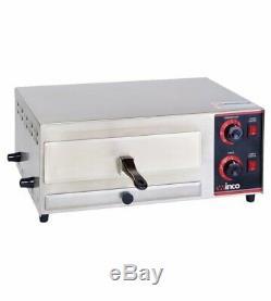 Electric Countertop Pizza Snack Oven Winco EPO-1 NEW #9980 120V Dial Control