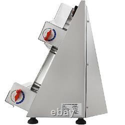 Electric Dough Sheeter Stainless Steel Pizza Dough Roller Pastry Press Machine