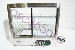 Electric Food Display Case Warmer Case Pizza Dessert Food Display Premium US New