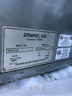 Equipex PZ430D Countertop Pizza Oven