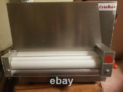 Estrella 12 one-stage dough sheeter great for pizza, pie dough, pastry