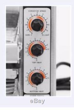Fma Omcan 11387 Conveyor commercial Countertop 14 Pizza Baking Oven CE-TW-0356