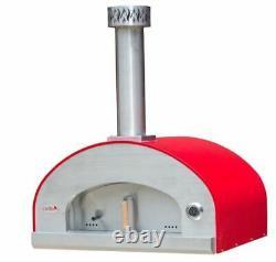 Forno Bravo Grande36 Countertop Portable Wood Fired Pizza Oven Black