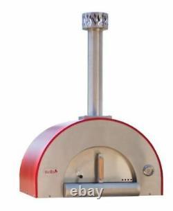 Forno Bravo Medio28 Countertop Portable Wood Fired Pizza Oven Black