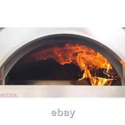 Forno Venetzia Torino 200 40-In Countertop Outdoor Wood-Fired Pizza Oven- Copper