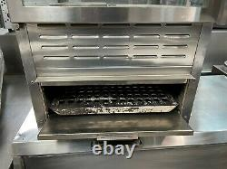 Gold Medal 5552PZ Pizza Merchandiser / Warmer Combo