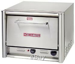 Grindmaster Cecilware PO18 Countertop Pizza Oven with 2 Shelves, Large, Stainles