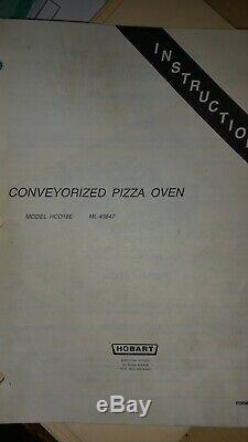 HOBART Pizza Oven