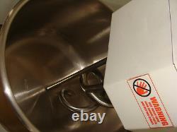 Hakka Commercial Sprial Dough Mixers 20 Quart Kitchen Pizza Bakery Spiral Mixer