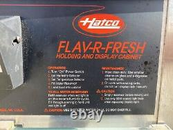 Hatco FDW-1 Flav-R-Fresh 4-Tier Revolving Pizza Warmer/Display Cabinet
