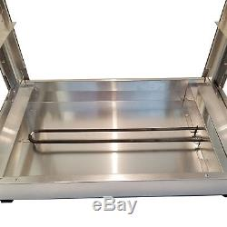 HeatMax Commercial 24 x 15 x 20 Countertop Food Pizza Pastry Warmer Display Case