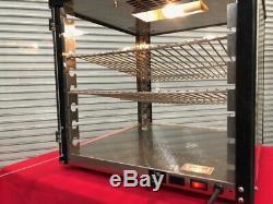 Heated Countertop Display Cabinet Pizza Churro Hot Food Wisco JJ690-16 #1633 NSF