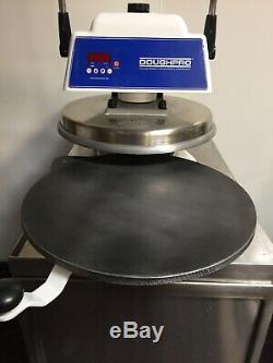 Heated Dough Press DoughPro DP1100 Commercial Pizza Tortilla Machine 2012