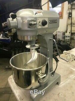 Hobart A-200 20 Qt Commercial Mixer New Bowl & Hook Pizza Dough Bakery
