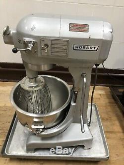 Hobart A-200 20Qt Quart Commercial Counter-top Dough Pizza Bread Bakery Mixer