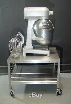 Hobart A200T 20 QT Dough Mixer Pizza Bowl Guard Tools Stainless Steel Cart