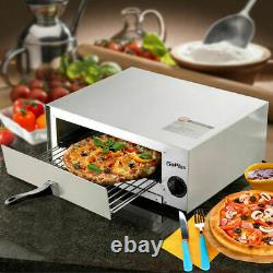 Home Kitchen Pizza Oven Stainless Steel Counter Top Snack Pan Bake