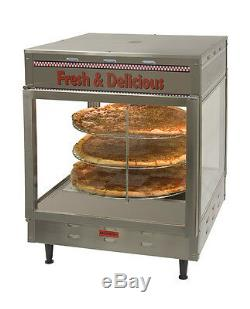 Humidified Pizza Pretzel Warmer Display Merchandiser PW12 Benchmark #51012