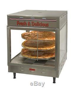 Humidified Pizza Pretzel Warmer Display Merchandiser PW18 Benchmark #51018