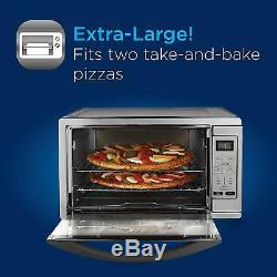 Kitchen Convection Oven Extra Large Counter Top Appliance Cooking Toaster Pizza