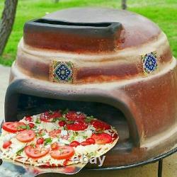 Kitchen Home Appliances Outdoor Rustic Clay Oven Pizza Portable Countertop Patio