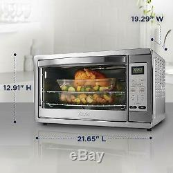 Large Convection Oven Electric Pizza Toaster Bake Restaurant Kitchen Countertop