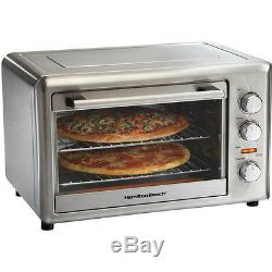 Large Countertop Oven Convection Fast Cook Rotisserie Bake Broil Pizza Casserole