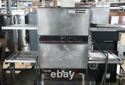 Lincoln Conveyor Pizza 1301 oven double stack 16W conveyor belt counter top