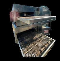 Lincoln Enodis 1301-4 Pizza Conveyor Double Stack oven 208v 1 phase 50 L