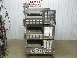 Lincoln Impinger 1132 Conveyor Triple Stack Pizza Oven with 18 Belt