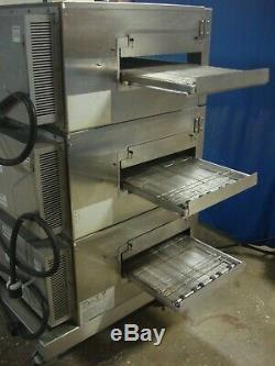 Lincoln Impinger 1132 Triple Electric Conveyor Pizza Oven 1132-002-u-k1841 3ph