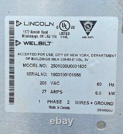 Lincoln Impinger CTI 2501 Double Stack Pizza Sub Countertop Conveyor Oven